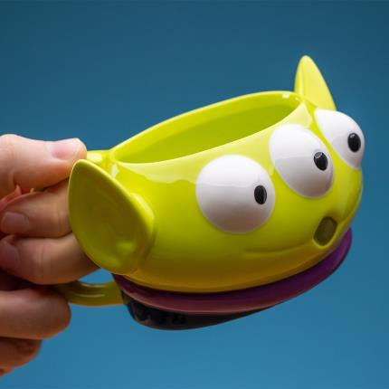 Gadgets & Novelties - Disney Toy Story Alien Mug - Image 3