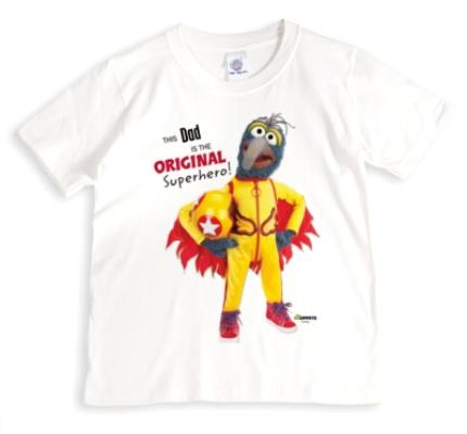 T-Shirts - Father's Day The Muppets Gonzo Personalised T-shirt - Image 1