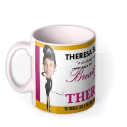 Mugs - Breakfast At Theresa's Photo Upload Mug - Image 1