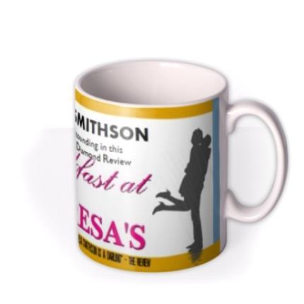Mugs - Breakfast At Theresa's Photo Upload Mug - Image 2