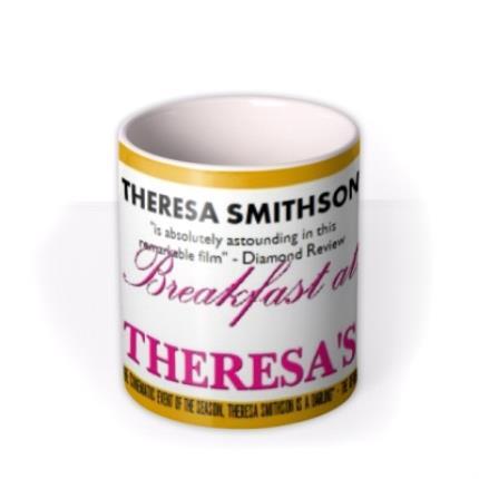 Mugs - Breakfast At Theresa's Photo Upload Mug - Image 3