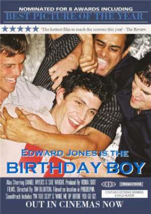 Greeting Cards - Best Picture Of The Year The Birthday Boy Personalised Greetings Card - Image 1