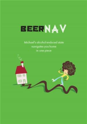 Greeting Cards - Beernav Funny Card - Image 1