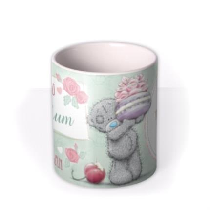 Mugs - Mother's Day Tatty Teddy Macaron Photo Upload Mug - Image 3
