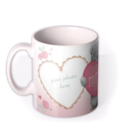 Mugs - Mother's Day Tatty Teddy Mummy Photo Upload Mug - Image 1