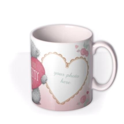 Mugs - Mother's Day Tatty Teddy Mummy Photo Upload Mug - Image 2