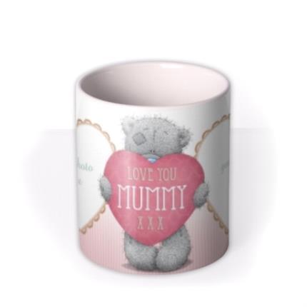 Mugs - Mother's Day Tatty Teddy Mummy Photo Upload Mug - Image 3