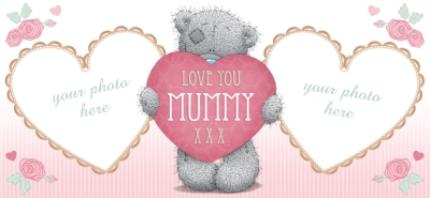 Mugs - Mother's Day Tatty Teddy Mummy Photo Upload Mug - Image 4