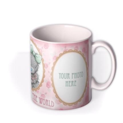Mugs - Mother's Day Tatty Teddy World Photo Upload Mug - Image 2