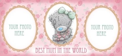 Mugs - Mother's Day Tatty Teddy World Photo Upload Mug - Image 4