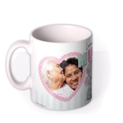 Mugs - Tatty Teddy Love Mum Photo Upload Mug - Image 1