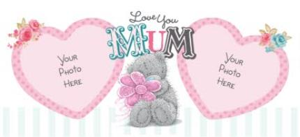 Mugs - Tatty Teddy Love Mum Photo Upload Mug - Image 4