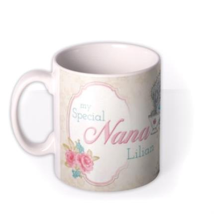 Mugs - Tatty Teddy Special Nana Photo Upload Mug - Image 1