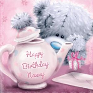 Nanny Birthday Card