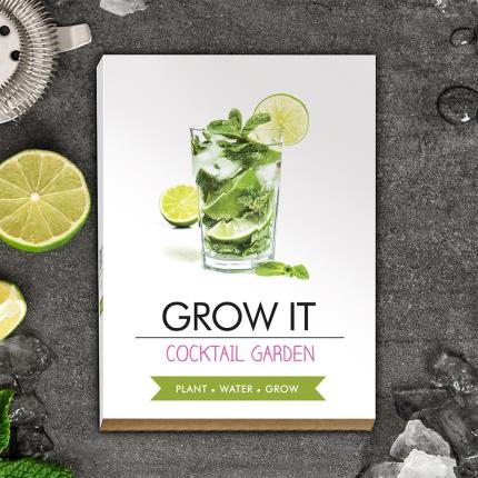 Gadgets & Novelties - Grow Your Own Cocktail Garden - Image 1
