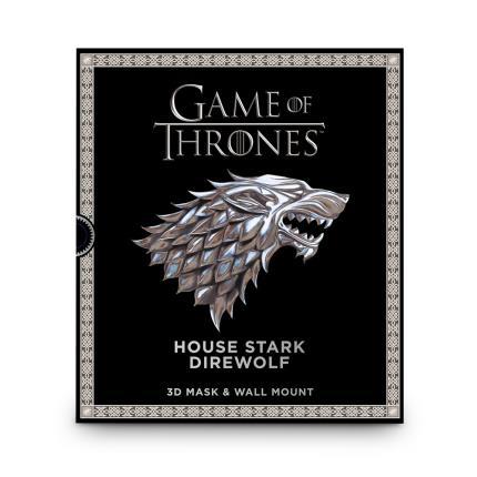 Gadgets & Novelties - Game of Thrones Mask - House Stark - Image 2