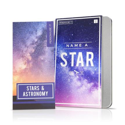Gadgets & Novelties - Name A Star Gift Set - Image 1