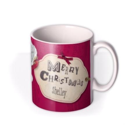 Mugs - Tatty Teddy Christmas Photo Upload Mug - Image 2
