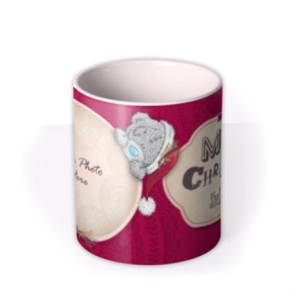 Mugs - Tatty Teddy Christmas Photo Upload Mug - Image 3