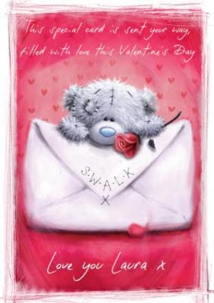 Greeting Cards - Me To You Tatty Teddy Filled With Love Valentines Day Card - Image 1