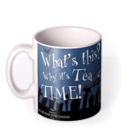 Mugs - Nightmare Before Christmas Graveyard Tea Photo Upload Mug - Image 1