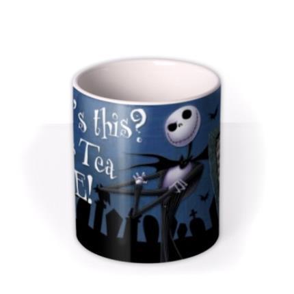 Mugs - Nightmare Before Christmas Graveyard Tea Photo Upload Mug - Image 3