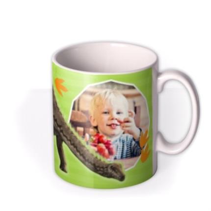 Mugs - Dinosaur Diplodocus Photo Upload Mug - Image 2