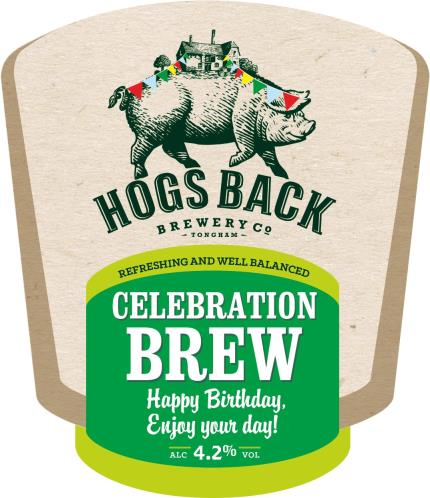 Alcohol Gifts - Exclusive Birthday Hogs Back Brewery Beer Trio - Image 1