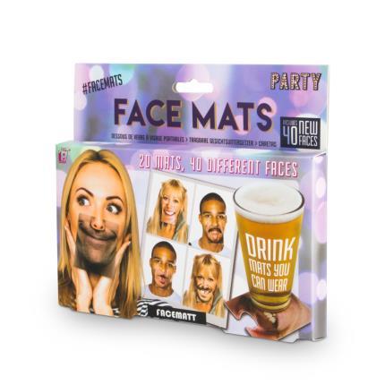 Gadgets & Novelties - Party Face Mats - Image 1
