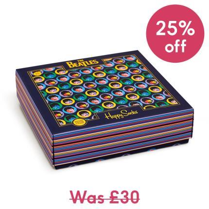Gadgets & Novelties - The Beatles Happy Socks Gift Box - Image 1