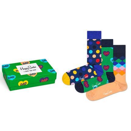 Gadgets & Novelties - I Love You Dad Happy Socks Gift Box - Image 1