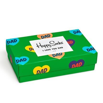 Gadgets & Novelties - I Love You Dad Happy Socks Gift Box - Image 4
