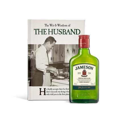 Gadgets & Novelties - The Wit & Wisdom of the Husband & Whisky Gift Set - Image 1