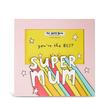Gadgets & Novelties - Happy News Super Mum Frame - Image 1