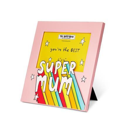 Gadgets & Novelties - Happy News Super Mum Frame - Image 2