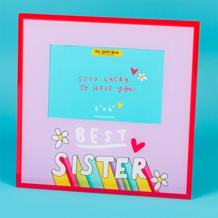 Gadgets & Novelties - Happy News Best Sister Frame - Image 3