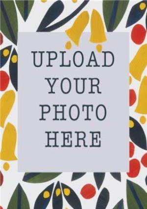Greeting Cards - Autumn Foliage Photo Upload Card - Image 2