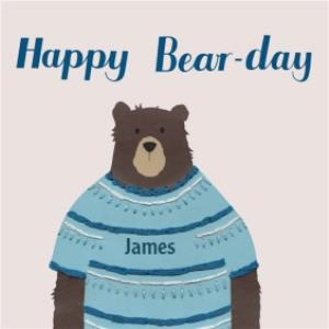 Greeting Cards - Birthday Card - bear - Image 1