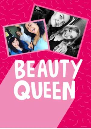 Greeting Cards - Ladies Birthday Card - for her - beauty queen - Image 1
