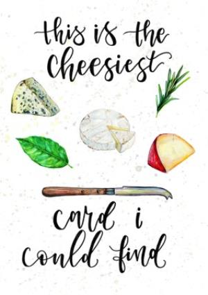 Greeting Cards - Birthday card - cheese - Image 1