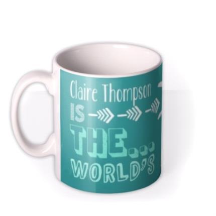 Mugs - Mother's Day Bestest Personalised Mug - Image 1