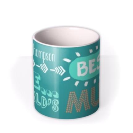 Mugs - Mother's Day Bestest Personalised Mug - Image 3