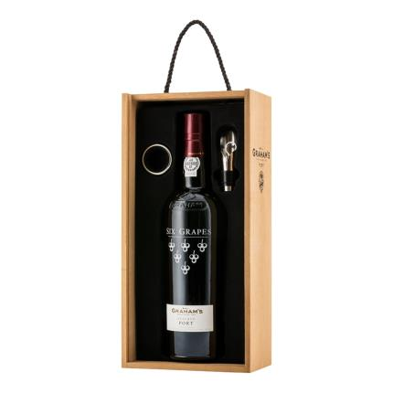 Alcohol Gifts - Graham's Port Wooden Gift Box - Image 1