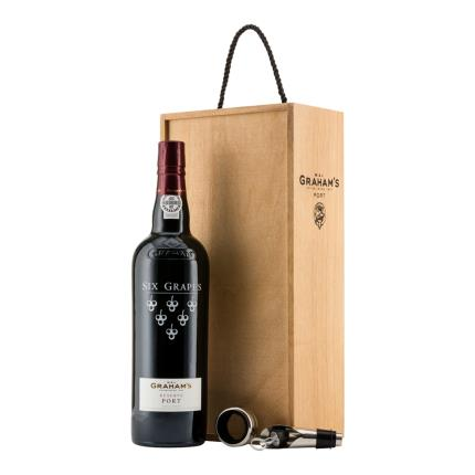 Alcohol Gifts - Graham's Port Wooden Gift Box - Image 2