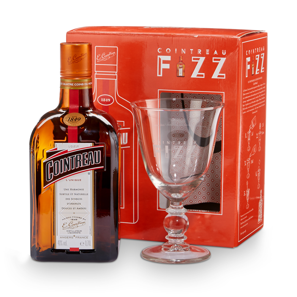 Alcohol Gifts - Cointreau Fizz Cocktail Gift Set 35cl - Image 1
