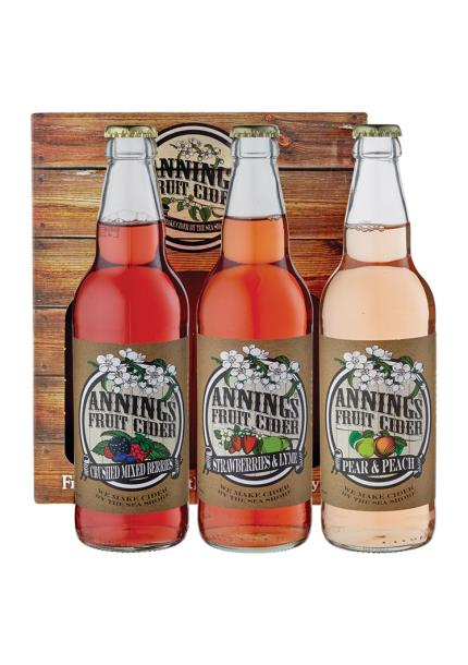 Alcohol Gifts - Anning Fruit Cider Selection - Image 1