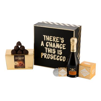 Alcohol Gifts - There's A Chance This May Be Prosecco Gift Box - Image 1