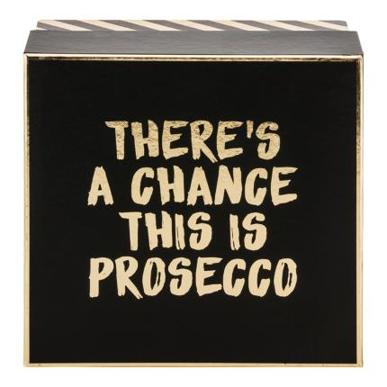 Alcohol Gifts - There's A Chance This May Be Prosecco Gift Box - Image 2