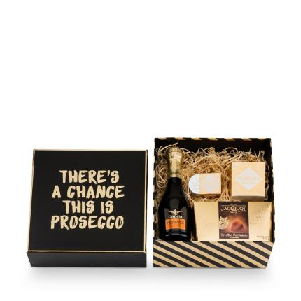 Alcohol Gifts - There's A Chance This May Be Prosecco Gift Box - Image 3