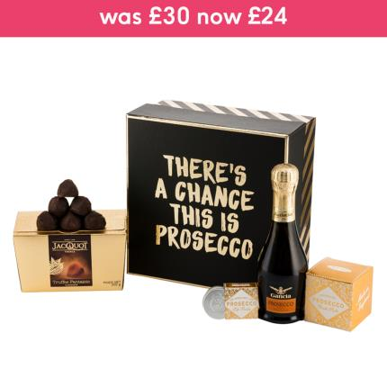 Alcohol Gifts - There's A Chance This May Be Prosecco Gift Box - Image 4